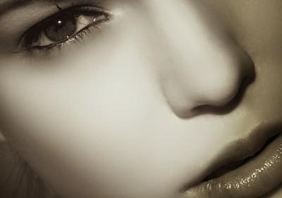 kosmetyki kobieca twarz
