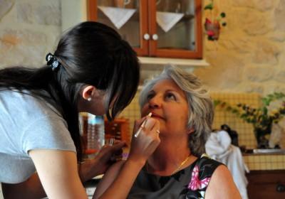 makijaż dla starszej osoby